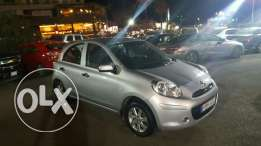 Micra 2013 full options one owner 23000km like new not rent a car