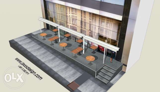 3D DESIGNER for your AWNINGS and store facades انطلياس -  6