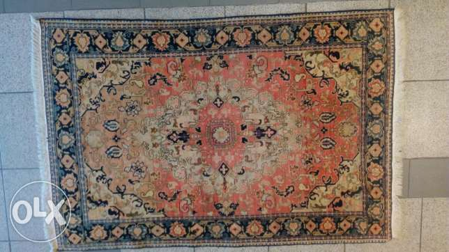 Very old carpet