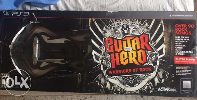 guitar hero original brand . very good and clean condition