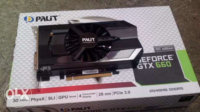 GTX 660 OC Edition -1006 MHz - 2GB DDR5