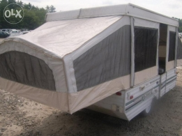 Caravan as a small house,,towing behing ur jeep...full confort