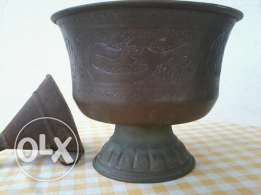Arabic Vase, copper Hand made, 30-50 years old,