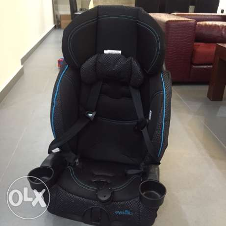 evenflo third stage car seat and booster