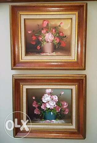 Canadian Furniture - Oil Paintings Framed