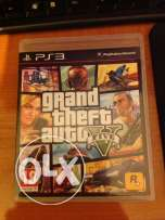 ps3 game gta 5 + map like new for sale