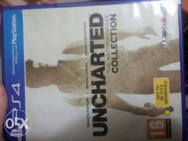 Ps4 Uncharted col.