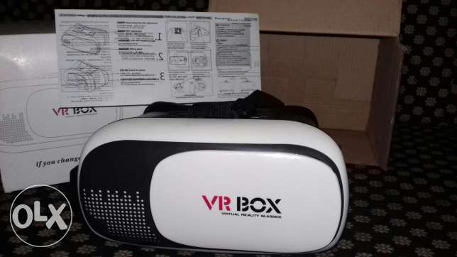 New vr box still in box not used in a good price