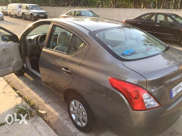 Nissan Sunny 2014 like new 8800km only.