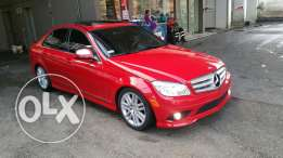 Mercedes c300 Red 2008