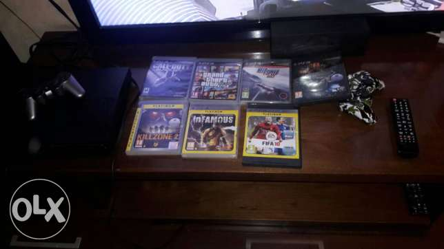 Ps3 slim 250gb with 7 games