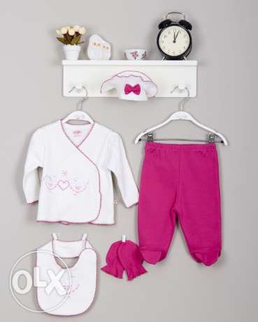 5 pieces set for babies