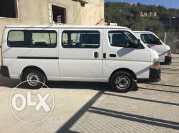 Nissan vans and buses