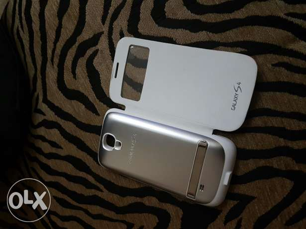 Samsung Galaxy S4 charging cover الشوف -  2