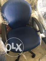 Office Chair available in Blue Color .