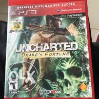 PS3 uncharted 1,2 and 3