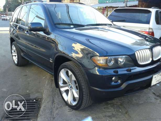 BMW x4 model 2006 veryyyy clean الصالحية -  1