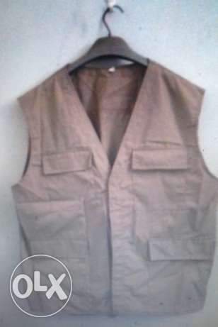sleeveless jacket Gile