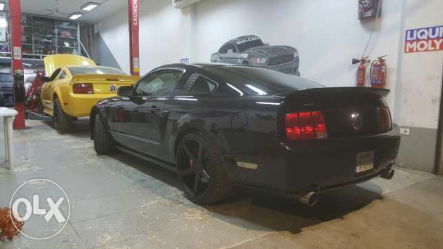 Mustang supercharged