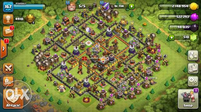 town hall 11 max