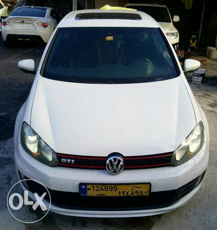 Golf gti mk6 white full options