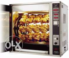 Chicken Rostisserie machine Henny Penny x8