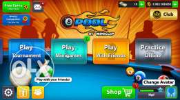 1 B 8 ball pool account