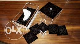 Set of practical classy accessories for your home or gift for people