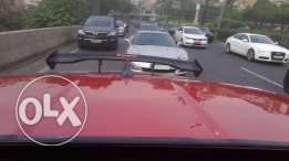 Black spoiler good status with good quality,can be installed on most