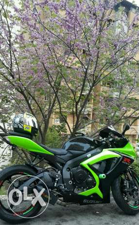 For sale suzuki gsxr 750 model 2007