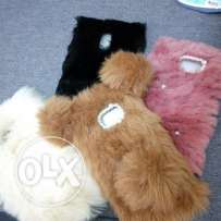 handmade fur phone cases