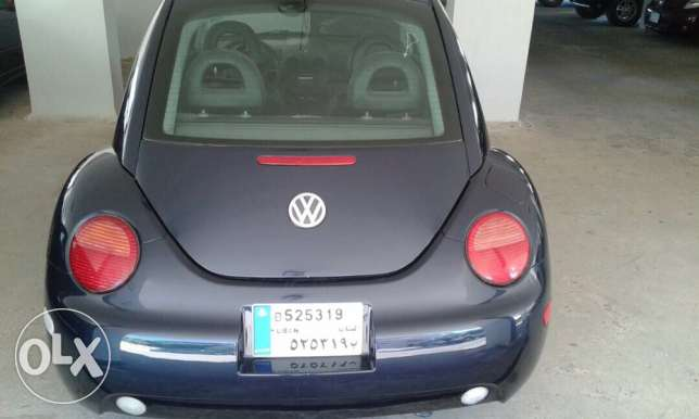 beetle mod 2002 like new full option automatic