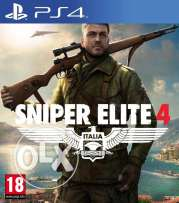 Sniper Elite 4 - ps4 - Now Available