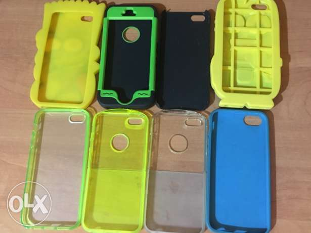 iphone 5s covers prices from 5$-15$ انطلياس -  1