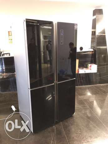 campomatic black 4 doors with one year warranty ( new in box)