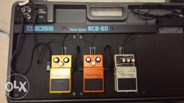 BOSS Guitar Pedals and Pedal Board الروشة -  1