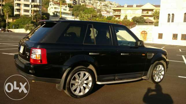 Range Rover 2007 Super charge أدما والدفنه -  6
