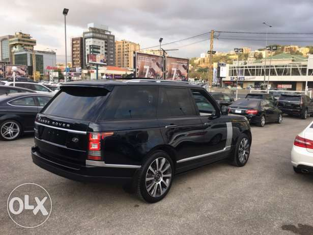 Range rover Vogue supercharged SE 2014 night blue on blue, GERMAN !!! انطلياس -  5
