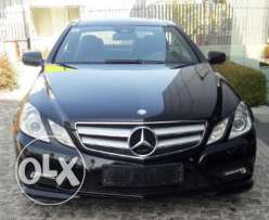 Mercedes E350 Coupe MY10