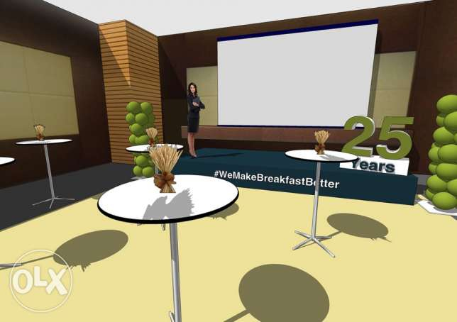 3D DESIGNER for your EVENTS and ceremonies... انطلياس -  5