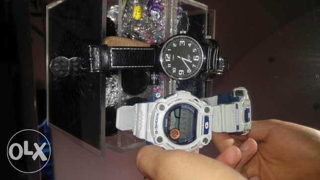 G shock + timex both original for very low price and very new not used