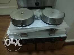 2 waffle maker stainless steel with warranty