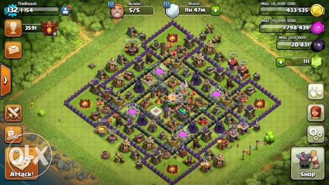 clash of clans account الشياح -  1
