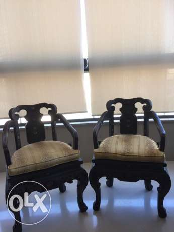 2 chair for $150 مار الياس -  1