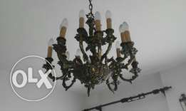 Reduced price threr chandeliers