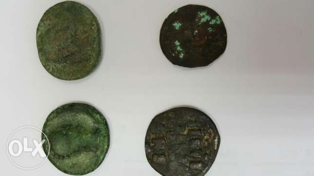Old Romanian and American coins