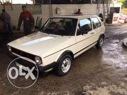 VW MK1 Golf GTI 1982 40,000KM ONLY-1 owner-Bought from Kettene Beirut