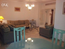 Furnished apartment in RABIEH for rent very calm place. 190 Sqm