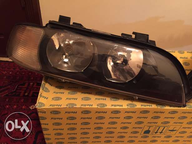 BMW E39 Hella headlights crystal شويفات -  3