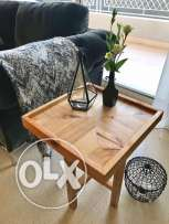 Hand-Crafted Wooden Side Tables